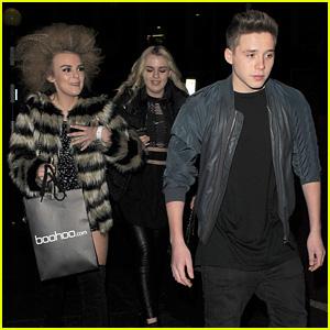 Brooklyn Beckham & Scottish Singer Tallia Storm Enjoy Fun Night Out in London