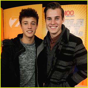 Cameron Dallas & Marcus Johns Were 'Expelled' at iHeartRadio's Jingle Ball 2014