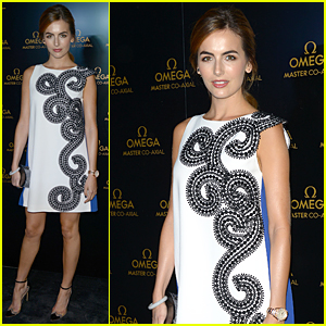 Camilla Belle Brings Star Power to Omega Miami Store Opening!