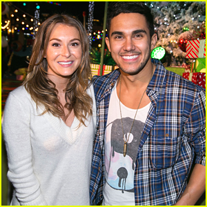 Carlos & Alexa PenaVega Celebrate Grinchmas at Universal Studios Hollywood