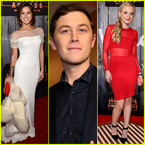 Cassadee Pope & Scotty McCreery Hit the Red Carpet for the American Country Countdown Awards 2014!