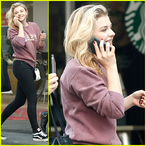Chloe Moretz Ditches Her Knee Brace For Girl's Day Out
