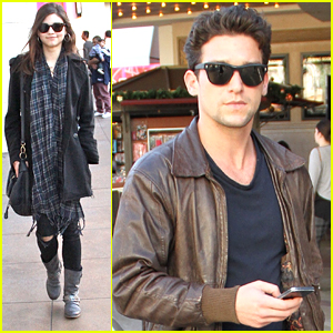 Daren Kagasoff Shops The Grove After 'Red Band Society' Fall Finale