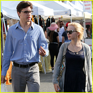 Dove Cameron & Boyfriend Ryan McCartan Bring Their Love to the Farmers Market