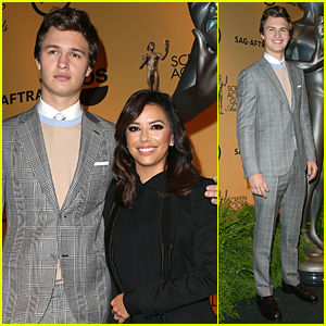 Ansel Elgort Looks So Dapper For SAG Awards Nominations Announcement