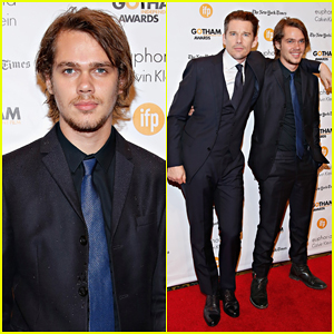 Ellar Coltrane & 'Boyhood' Cast Take Home Independent Film Audience Award at Gotham Awards 2014!