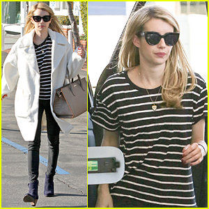 Emma Roberts Shops Til She Drops to Close Out 2014