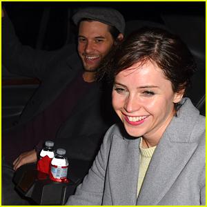 Ben Barnes Flies Into LAX with Felicity Jones!
