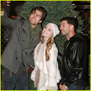 Greer Grammer Gets Help From Pierson Fode With Her Christmas Tree Shopping