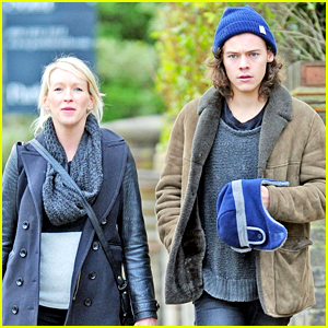 Harry Styles Hangs Out with Family Friend Julia Corden