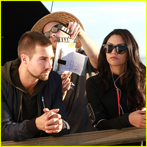 James Maslow Rocks New Short Hair for 'Wild For The Night' Filming with Bianca Santos