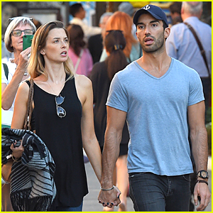 Jane the Virgin's Justin Baldoni & Wife Emily Foxler Hold Hands During Shopping Trip