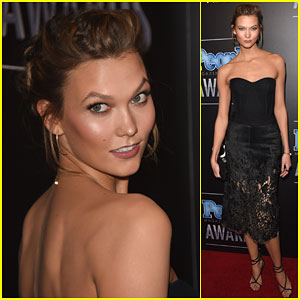 Karlie Kloss Strikes a Pose at the People Magazine Awards 2014!