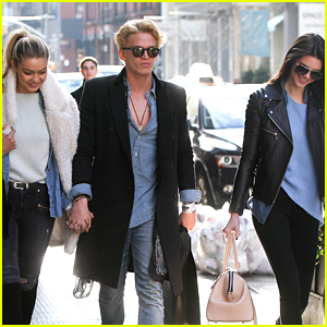 Gigi Hadid & Cody Simpson Hang Out with Pal Kendall Jenner in Soho