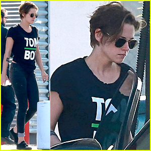 Kristen Stewart Is a Total 'Tom Boy' in Los Angeles!