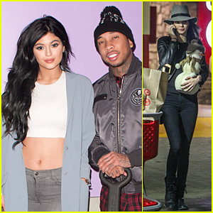 Kylie Jenner & Tyga Come Together to Donate Gifts at Children's Hospital Holiday Party