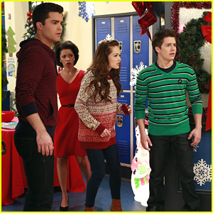 Adam, Bree & Chase Are Making Our Holidays Even Better With Bionic Dolls on 'Lab Rats'! (Exclusive Stills)