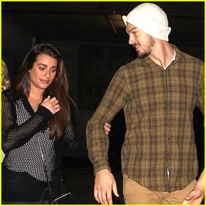 Lea Michele Makes It a 'Wild' Date Night with Boyfriend Matthew Paetz!