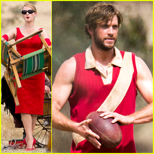 Liam Hemsworth is One Hot, Dirty Rugby Player for 'The Dressmaker' - See the Pics!