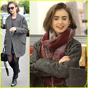 Lily Collins Shows She Knows the Words to Goo Goo Dolls' Songs