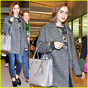 Lily Collins Begins the Day in Los Angeles & Ends It in Tokyo