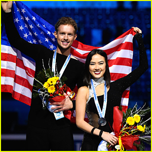 Madison Chock & Evan Bates Win Silver at ISU Grand Prix of Figure Skating!