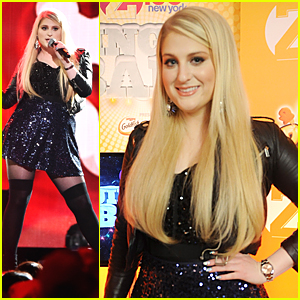 Meghan Trainor Gets Us 'Movin' at iHeartRadio's Jingle Ball In New York City