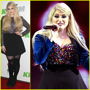 Meghan Trainor's 'Lips Are Movin' at KIIS FM's Jingle Ball - See The Pics!