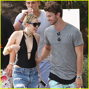 Miley Cyrus And Patrick Schwarzenegger 2016