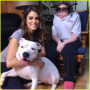 Nikki Reed Visits O'Hara & Zeus With The Humane Society of America