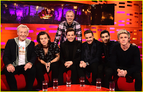 One Direction Gush Over Ian McKellen & Zayn's Hair on 'Graham Norton Show' - Watch The Clips!