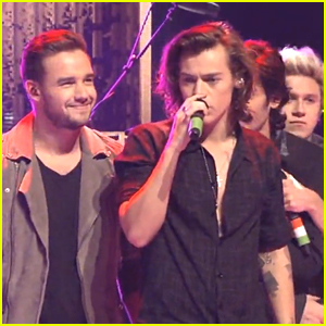 One Direction Takes the Stage on New Year's Eve (Video)
