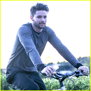 Patrick Schwarzenegger Sweats Off Christmas Meal During a Bike Ride