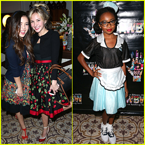 Piper Curda & Skai Jackson Go Back To The 1950s For G Hannelius' 16th Birthday Party