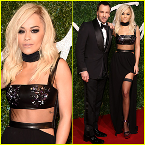 Rita Ora Steps Out with Her 'Gorgeous Date' Tom Ford at the British Fashion Awards!