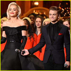 Rita Ora & Hunter Hayes Perform In Front of the President & His Family!