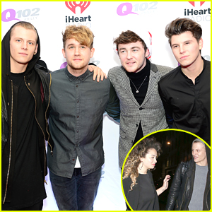 Rixton Hit Up Q102's Jingle Ball After Lewis Morgan Hangs With Ella Eyre in London