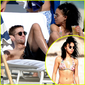 Robert Pattinson & FKA twigs Show Off Hot Beach Bodies in Miami!