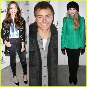 Rowan Blanchard & 'Girl Meets World' Cast Get into the Holiday Spirit at Hollywood Christmas Parade 2014