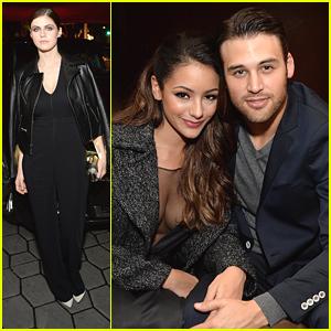 Ryan Guzman & Alexandra Daddario Celebrate The Men Of The Year With GQ