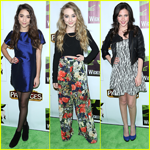 Rowan Blanchard & Sabrina Carpenter Get 'Wicked' at Pantages