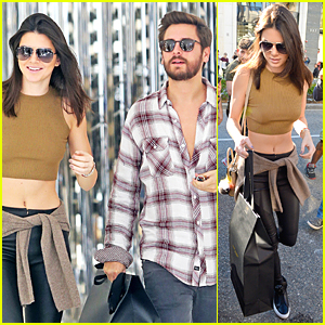 Kendall & Kylie Jenner Grab Lunch Together Right Before Christmas Eve