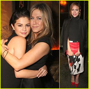 Selena Gomez Says Jennifer Aniston Made Her Entire Year!