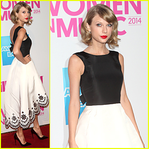 Taylor Swift Looks Picture Perfect at Billboard Women in Music Luncheon
