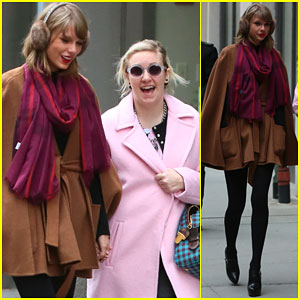 Taylor Swift & Lena Dunham Are the Most Adorable BFFs