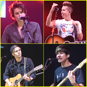 The Vamps & 5 Seconds of Summer Rock Out At Radio City Christmas Live