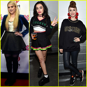 Meghan Trainor & Charli XCX Ring in the Holidays at Boston's Jingle Ball!
