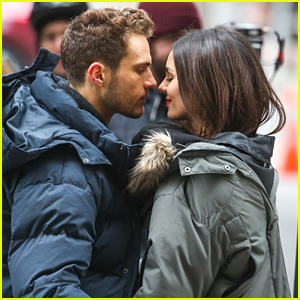 Victoria Justice & Ryan Cooper Almost Kiss on 'Eye Candy' Set