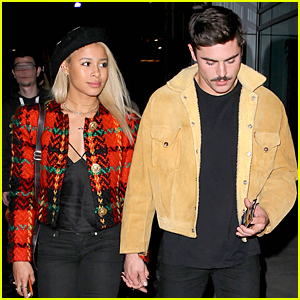 Zac Efron & Sami Miro Let Everyone Know They Are Hot Couple at Lakers Game