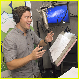 Adam DeVine Hits The Recording Studio For 'Penn Zero: Part Time Hero' (Exclusive Pics)!